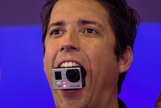 Action GoPro en bourse + 30% le jour de son introduction