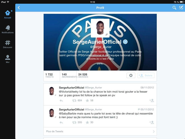 Photo of Serge Aurier ferme son compte Twitter