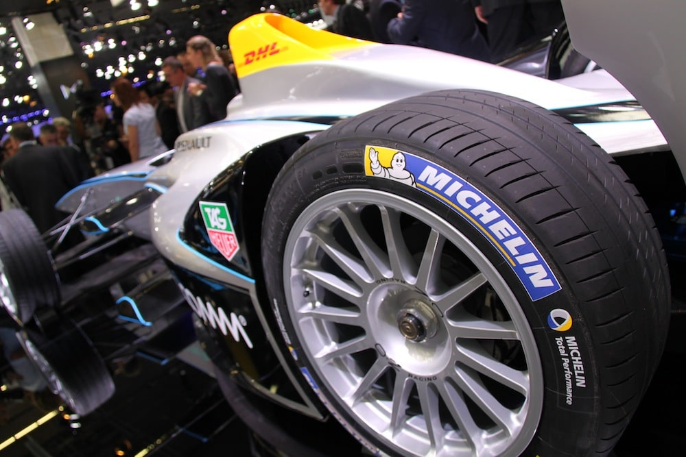 Photo of Formula E : Exclusivité pour le pneu Michelin Pilot Sport EV