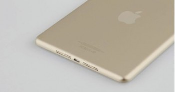 Apple ipad couleur or