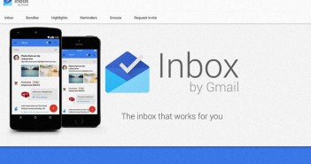 Google messagerie Inbox