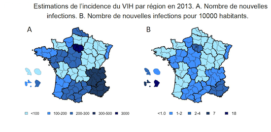 estimation incidence vih sida en france