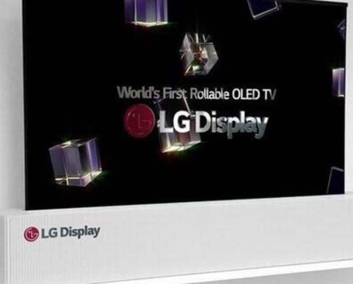 High Tech, TV OLED 4K enroulable, LG